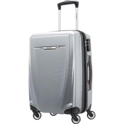 サムソナイト Samsonite レディース スーツケース・キャリーバッグ バッグ Winfield 3 Deluxe 20' Spinner Luggage Silver