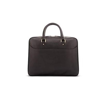 SAGEBROWN Black Winchester Briefcase 並行輸入品