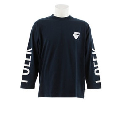 Tシャツ メンズ 長袖 RVR SMTRELOP  S18AW-POLER-005ANVY