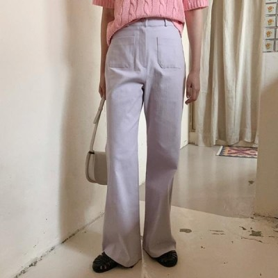 HEYLADY レディース パンツ Byraton Flared trousers