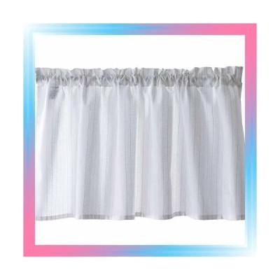 幅100×丈45cm Sunny day fabric カフェカーテン シルヴァ ホワ