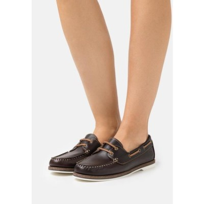 タマリス レディース 靴 シューズ Boat shoes - chestnut