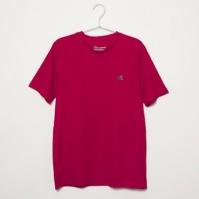 チャンピオン メンズ Tシャツ カットソーSサイズ/Champion 半袖 クルーネック ロゴ Tシャツ カットソー レッド 送料無料/込 誕生日プレゼ