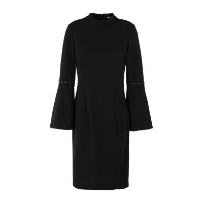 DKNY ミニワンピース&ドレス ブラック 6 ポリエステル 94% / ポリウレタン 6% ミニワンピース&ドレス