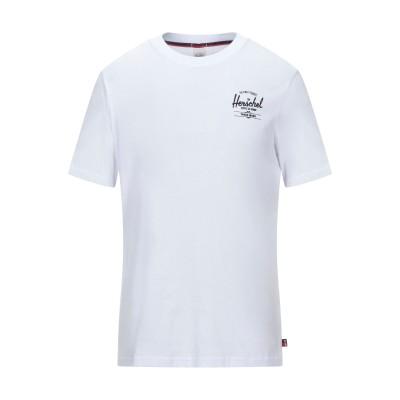 ハーシェル サプライ HERSCHEL SUPPLY CO. T シャツ ホワイト 46 コットン 100% T シャツ