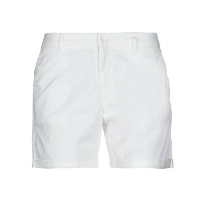 サンシックスティエイト SUN 68 ショートパンツ ホワイト 26 コットン 97% / ポリウレタン 3% ショートパンツ