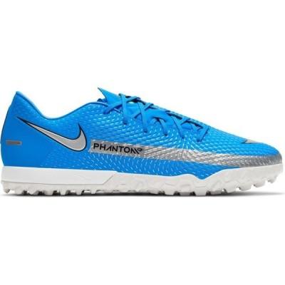 ナイキ シューズ メンズ サッカー Nike Adults' Phantom GT Academy Turf Soccer Shoes Blue/Silver