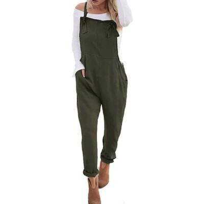 StyleDome PANTS レディース US サイズ: Large カラー: グリーン