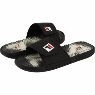 フィラ Fila メンズ サンダル シューズ・靴 Massaggio M Black/Black/Chinese Red