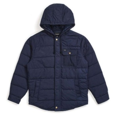 Brixton Cass Hooded Jacket Navy L 送料無料