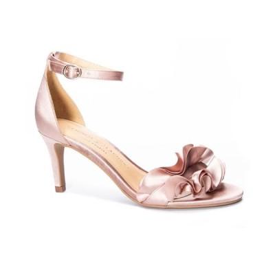 チャイニーズランドリー レディース サンダル シューズ Ruffle Women's Dress Sandals