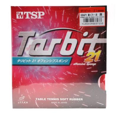 ティーエスピー TSP 卓球ラバー タリビット・21 sponge 裏ソフト 厚さ:厚 20471 レッド