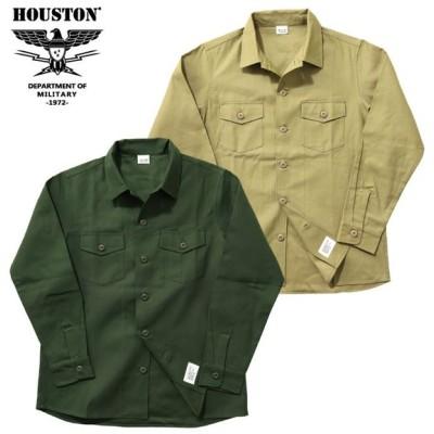 HOUSTON ヒューストン 40545 ARMY SHIRT/アーミーシャツ -全2色-