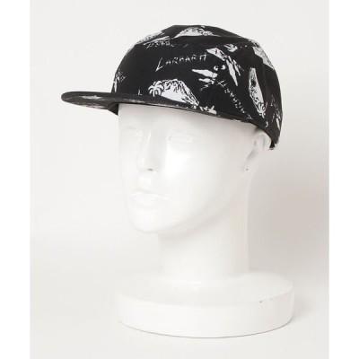 帽子 キャップ 【Carhartt/カーハート】 ANDERSON CAP ブランドロゴ 総柄 平ツバ キャップ/帽子