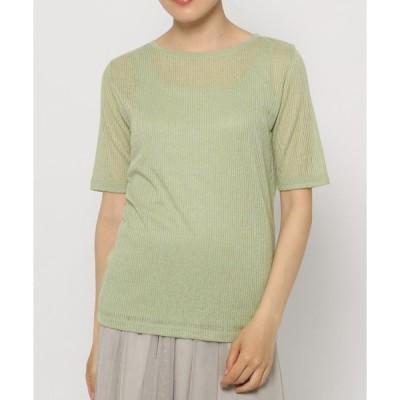 tシャツ Tシャツ 2SET*シアーリブT/885212