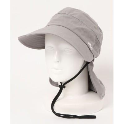 OVERRIDE / 【FILA】FLW MESH SLIT JOCKEY WOMEN 帽子 > キャップ