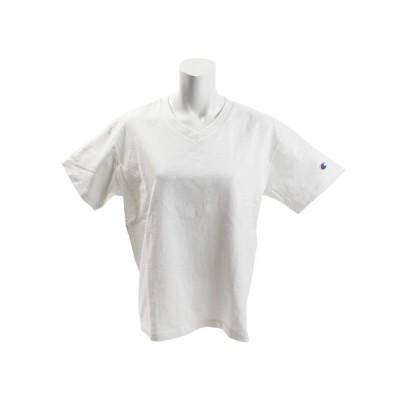 チャンピオン-ヘリテイジ(CHAMPION-HERITAGE) 【多少の傷汚れありの為大奉仕】BA Vネック Tシャツ CW-M323 010 オンライン価格 (レディース)