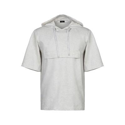 YOON スウェットシャツ グレー 46 コットン 99% / ポリウレタン® 1% スウェットシャツ