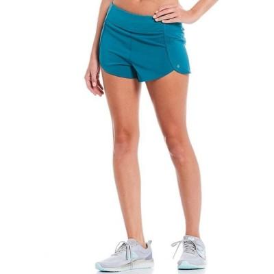 アントニオ メラーニ レディース ハーフパンツ・ショーツ ボトムス Motion 4-Way Stretch Back Zipper Pocket Moisture Wicking Shorts