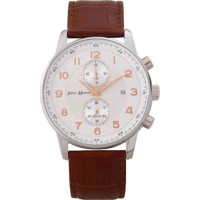 【送料無料】ジャパンマイスター メンズ腕時計 ブラウン<JMTK−300MBR>|JMTK−300MBRメンズウオッチ|(do)