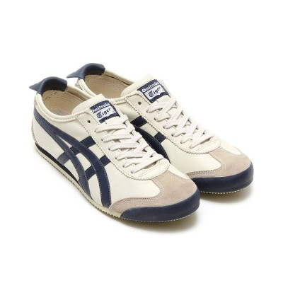 【アトモス】 Onitsuka Tiger MEXICO 66  BIRCH/INDIAN INK 18SP-I メンズ アイボリー 23.0cm atmos