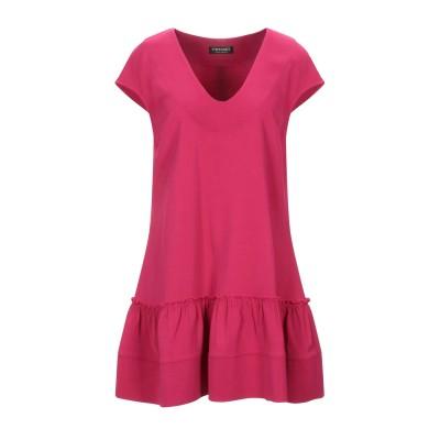 ツインセット シモーナ バルビエリ TWINSET ミニワンピース&ドレス フューシャ 48 96% レーヨン 4% ポリウレタン ミニワンピース&