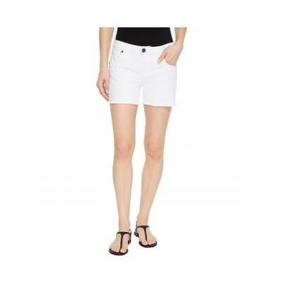 KUT from the Kloth カットフロムザクロス レディース 女性用 ファッション ショートパンツ 短パン Gidget Fray Shorts in Optic White - Optic White
