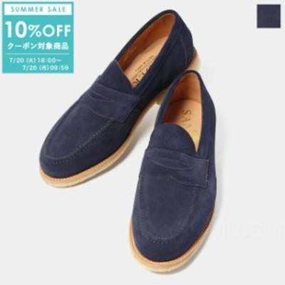 【SALE/10%OFFクーポン対象!7/26(月)09:59まで】サンダース SANDERS メンズ 革靴 ビジネスシューズ LOUIS PENNY LOAFER 1960AS【送料無