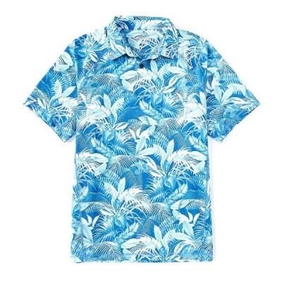 トッミーバハマ メンズ シャツ トップス IslandZone Fuego Palms Performance Stretch Short-Sleeve Recycled Materials Polo Shirt