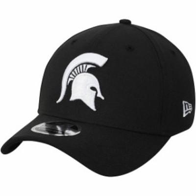 New Era ニュー エラ スポーツ用品  New Era Michigan State Spartans Black 9FIFTY Stretch-Snap Adjustable Hat