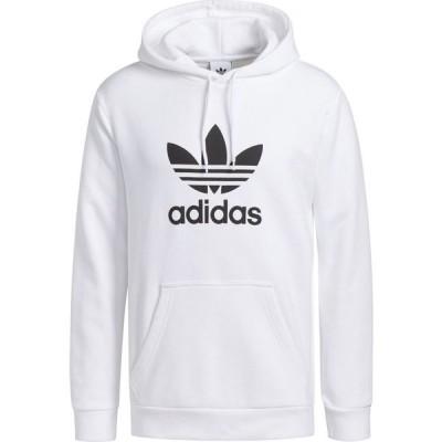 アディダス Adidas メンズ パーカー トップス Trefoil Hoodie White
