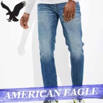 アメリカンイーグル ジーンズ デニムパンツ ジーパン スリム メンズ エアフレックスプラス テンプ テック ボトムス 新作 AEO