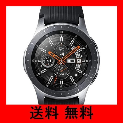 Galaxy Watch 46mm シルバー【Galaxy純正 国内正規品】 Samsung スマートウォッチ iOS/Android対応 SM-R