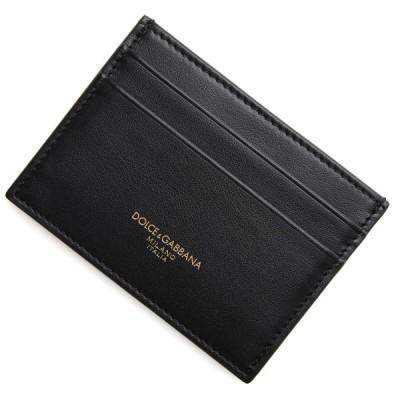 ドルチェ&ガッバーナ DOLCE&GABBANA カードケース ブラック メンズ bp0330-az607-80999