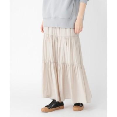 スカート ビンテージサテンスカート