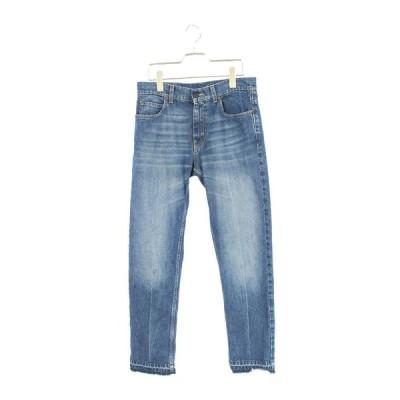ステラマッカートニー STELLA McCARTNEY STRAIGHT LEG JEANS サイズ:30インチ カットオフフレアデニムパンツ 中古 SB01