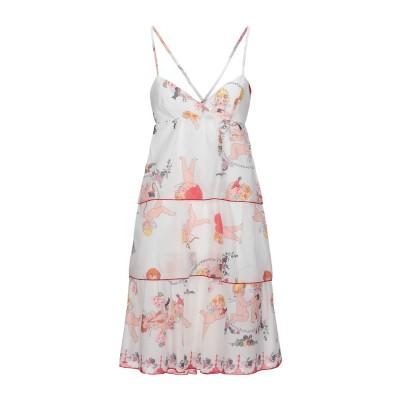 ROSE' A POIS ミニワンピース&ドレス ホワイト 46 コットン 100% ミニワンピース&ドレス