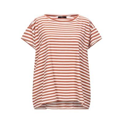 SEVENTY SERGIO TEGON T シャツ ブラウン 46 コットン 100% T シャツ