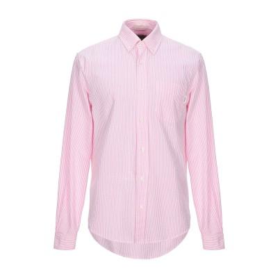 ロイ ロジャース ROŸ ROGER'S シャツ ピンク L コットン 100% シャツ