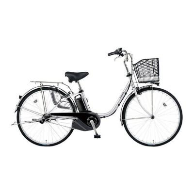 PANASONIC BE-ELSX432-S2 シャイニーシルバー ビビ・SX 電動アシスト自転車(24インチ・内装3段) メーカー直送