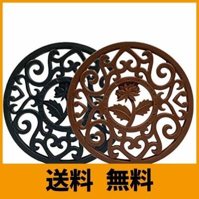 日本ブランドSHIWEI 鍋敷き 耐熱鍋敷き 断熱パッドシリコン製 コースター保護 鍋つかみ 滑り止め 防水 厚手 オーブンマット お鍋シート 台所シ