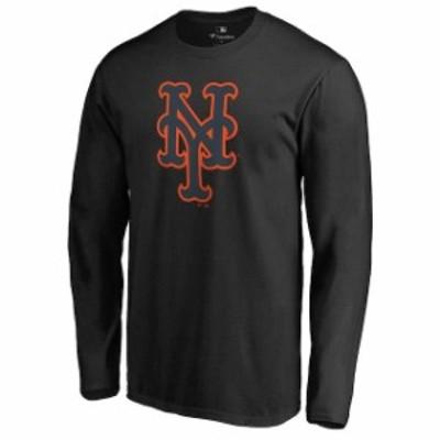 Fanatics Branded ファナティクス ブランド スポーツ用品  New York Mets Black Taylor Long Sleeve T-Shirt