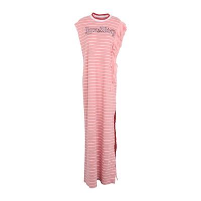 PINKO UNIQUENESS ロングワンピース&ドレス ピンク XS コットン 100% / ポリエステル / ナイロン / ポリウレタン /