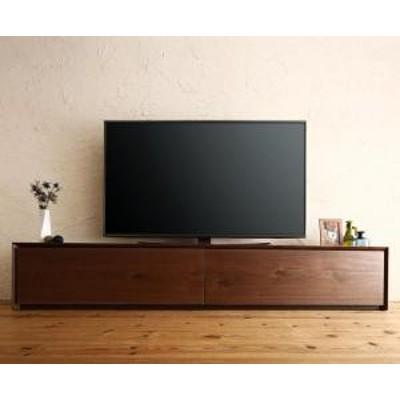 国産完成品天然木 和モダンデザイン ガラス突板テレビボード Dine ディーヌ 幅200