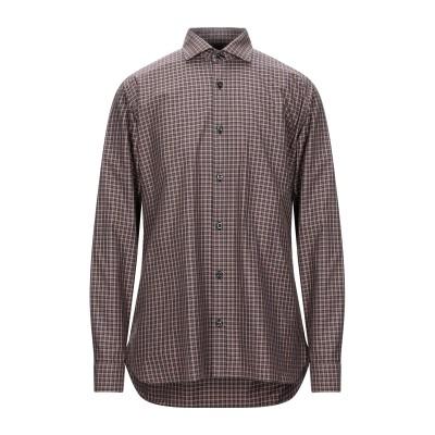 ZZEGNA シャツ キャメル 41 コットン 100% シャツ