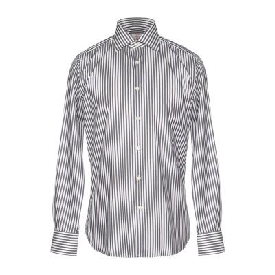 BORSA per PERLIN シャツ 鉛色 40 コットン 100% シャツ