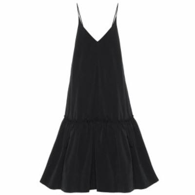 ドリス ヴァン ノッテン Dries Van Noten レディース パーティードレス ワンピース・ドレス Taffeta gown Black