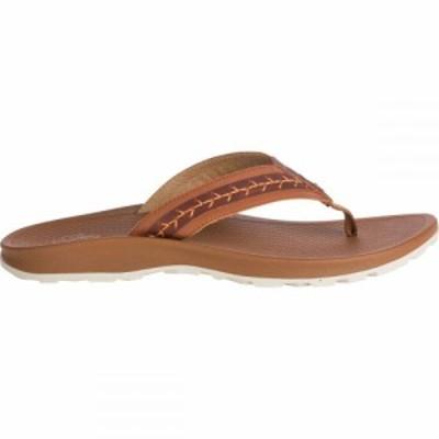 チャコ Chaco レディース ビーチサンダル シューズ・靴 Playa Pro Leather Flip Flop Maple