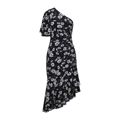 マイケル・コースコレクション MICHAEL KORS COLLECTION 7分丈ワンピース・ドレス ブラック 2 シルク 100% 7分丈ワンピ
