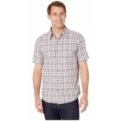 マーモット メンズ シャツ トップス Agrozonda Short Sleeve Shirt Bright Steel